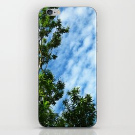 .look at the sky. iPhone Skin