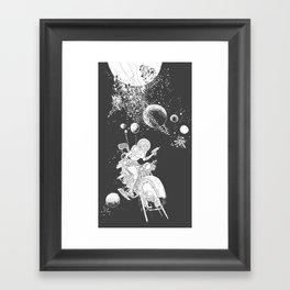 rocket lass Framed Art Print