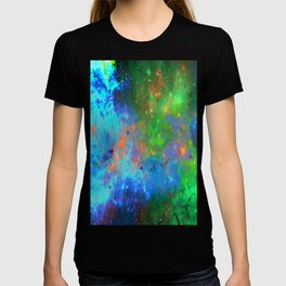 Speed Of Light - Abstract space painting T-shirt