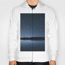 Leo star constellation, Night sky, Cluster of stars, Deep space,Lion constellation Hoody