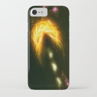 pac man iPhone & iPod Cases featuring Pac Man by Zirothar