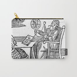 An Astrologer at his desk Carry-All Pouch