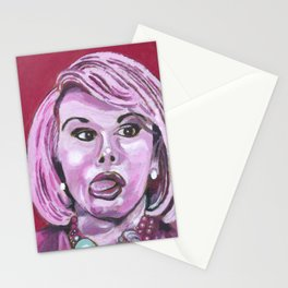 """Joan """"Can we talk?"""" Stationery Cards"""