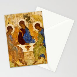 Trinity Angels of God Icon Stationery Cards