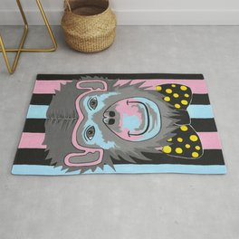 Chimp Off The Old Block Rug