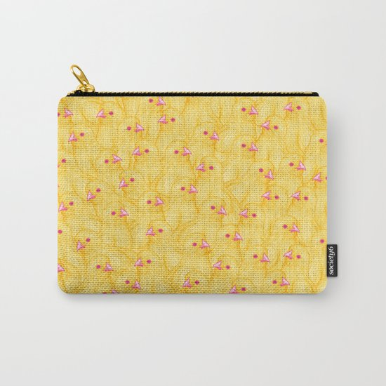 The Yellow Baby Chicks Club Carry-All Pouch