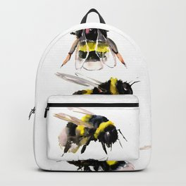 Bumblebee, Bee art, bee design, bees Backpack