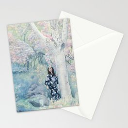 """""""Abundant Spring"""" 'In the Garden' Series Stationery Cards"""