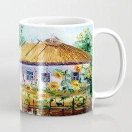 Ukrainian village Coffee Mug