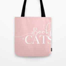 Books And Cats V2 Tote Bag