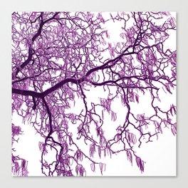 purple tree XXVII Canvas Print