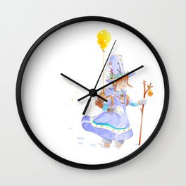 The Second Hand Wall Clock