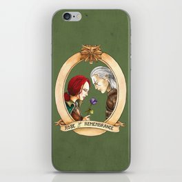 Rose of Remembrance iPhone Skin