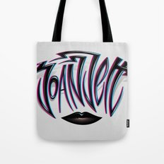 Joan Jett Tribute Tote Bag