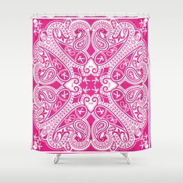 PINK ROYALTY Shower Curtain