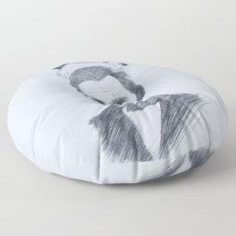 Abraham Kadabraham Blue Floor Pillow