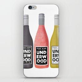 Underwood Wine iPhone Skin