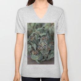 Master Kush Medical Marijuana Unisex V-Neck