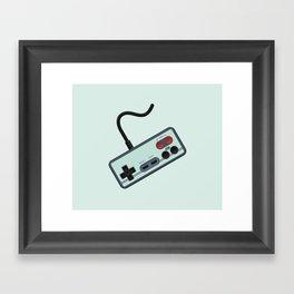 Vintage + Retro Gamer / Gamer Framed Art Print