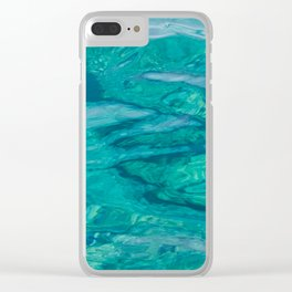 Mediterranean Water Clear iPhone Case