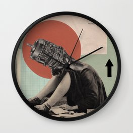 A Plan of Action Wall Clock