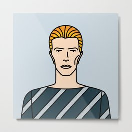 David Bowie – Station to Station Metal Print
