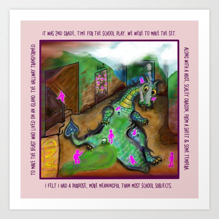 2nd Grade Play Dream Art Print