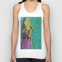 lip Tank Tops featuring Lip Sync by Stephon Daniels