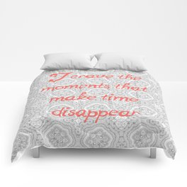 Disappearing Time Comforters