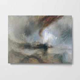William Turner - Snow Storm Metal Print