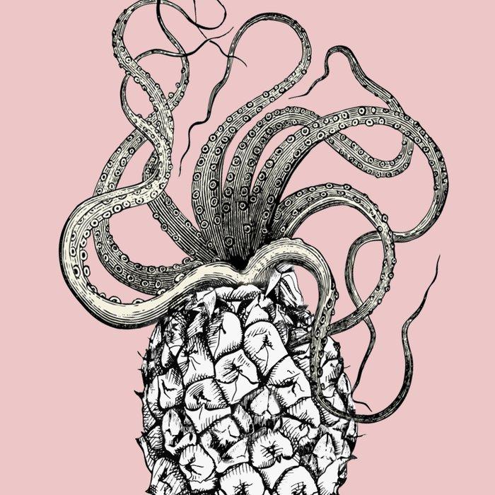 Anoctopus Duvet Cover