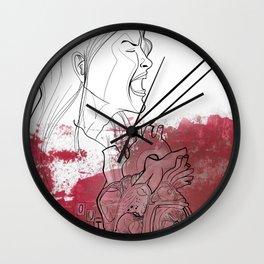 My blood me Wall Clock