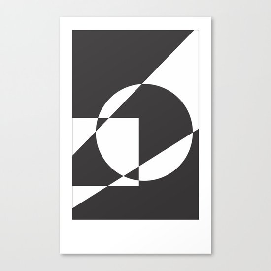Geometrical Canvas Print