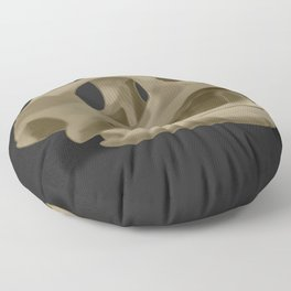 Turtle skull head Floor Pillow