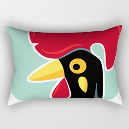 Rooster of Barcelos, Portugal Rectangular Pillow