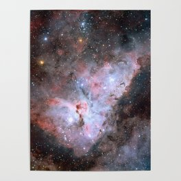 Stars in Space Astronomy Art Poster