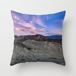 Death_Valley 5587 - Zabriskie_Point Sunrise Throw Pillow