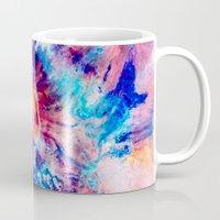 iris Mugs featuring Iris by Kimsey Price