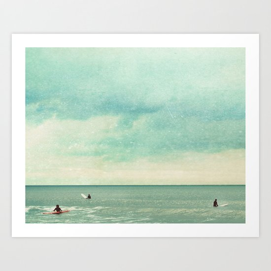 Only Chasing Safety Art Print