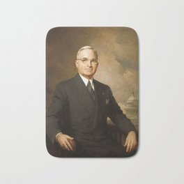 President Harry Truman Bath Mat