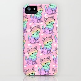 Rainbow Cats iPhone Case
