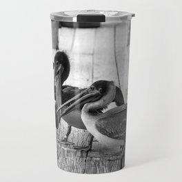 Juvenile Brown Pelican Tale 7 Travel Mug