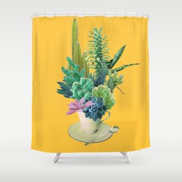 Arid garden Shower Curtain