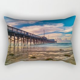Northside Newport Pier Rectangular Pillow
