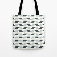 scandinavian Tote Bags featuring Scandinavian by Pencil Studio