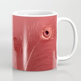 Red Feathers | Peacock Feathers | Nadia Bonello | Ottawa Canada Coffee Mug