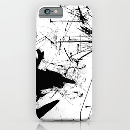 Inking Abstract 2 iPhone Case