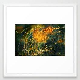 Light/Motion Long Exposure Study - #6 Framed Art Print