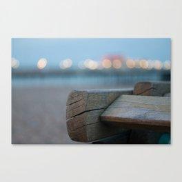 Beach Lights  Canvas Print