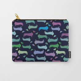 Colorful dachshunds Carry-All Pouch
